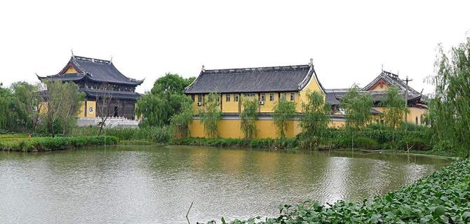 义阡禅寺放生池